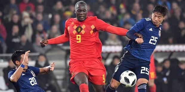 Grâce à Lukaku, la Belgique s'impose face au Japon (1-0) - La Libre