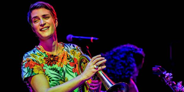 Maite Hontelé, la trompettiste de salsa venue du froid - La Libre