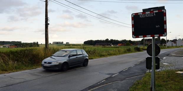 Pecq: 18,5 % des véhicules en excès de vitesse - La Libre