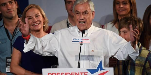 Présidentielle au Chili: le conservateur Piñera face au socialiste Guillier au 2e tour - La Libre