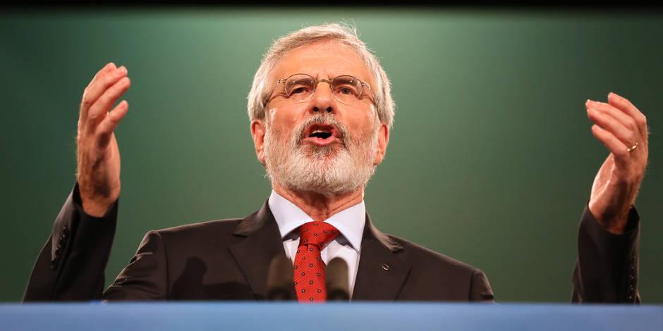 Irlande du Nord: Le retrait de Gerry Adams rendra le Sinn Fein bien plus fréquentable