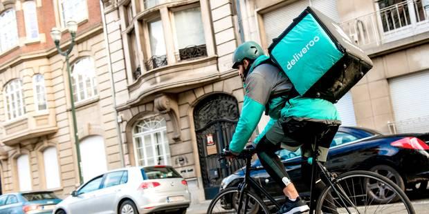 Deliveroo lance une assurance accident gratuite pour tous ses coursiers belges indépendants - La Libre