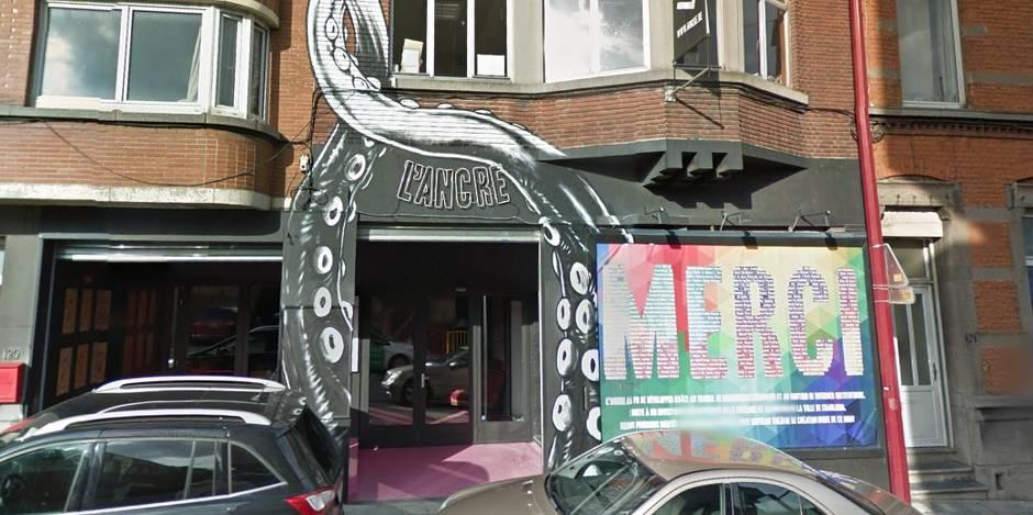 La grande colère du Théâtre de l'Ancre à Charleroi