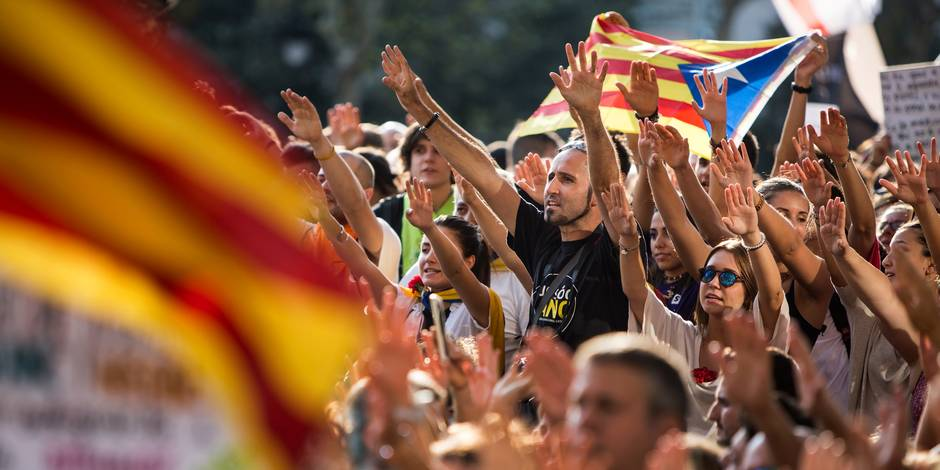 Bruxelles s'apprête à accueillir 50.000 indépendantistes catalans