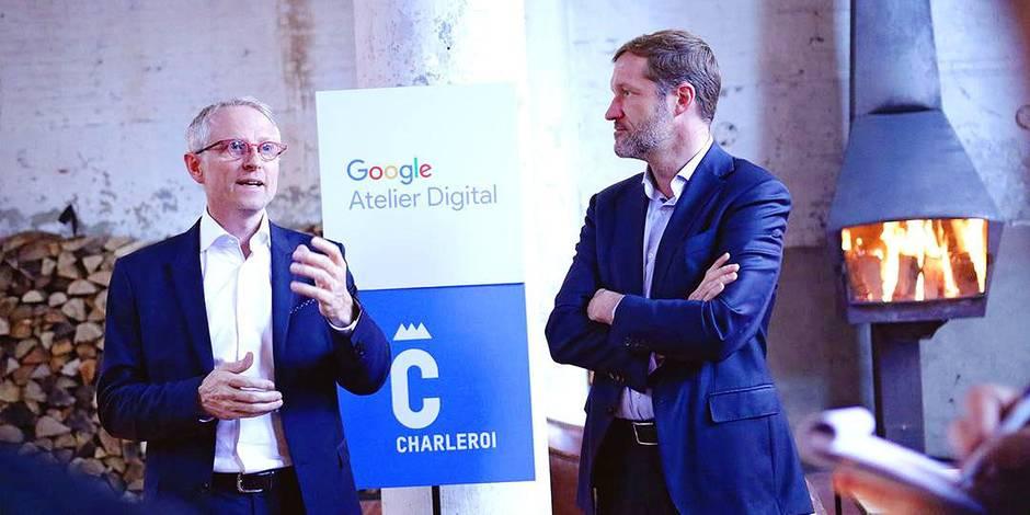 Le premier atelier numérique wallon de Google a eu lieu à Charleroi