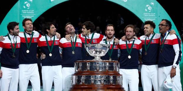 La France remporte la Coupe Davis après la démonstration de Pouille face à Darcis (3-2) - La Libre