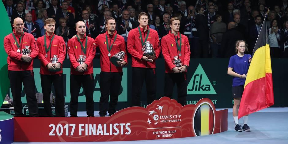 Coupe Davis: Quel avenir pour le tennis belge? - La Libre