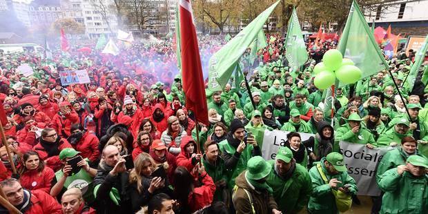 Pensions: la CSC et la FGTB organisent une manifestation à Bruxelles le 19 décembre - La Libre