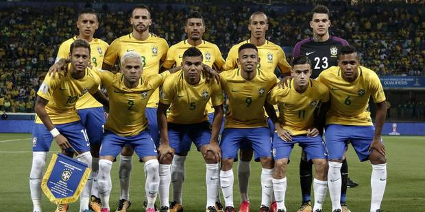 Mondial 2018: le Brésil grandissime favori ? - La Libre