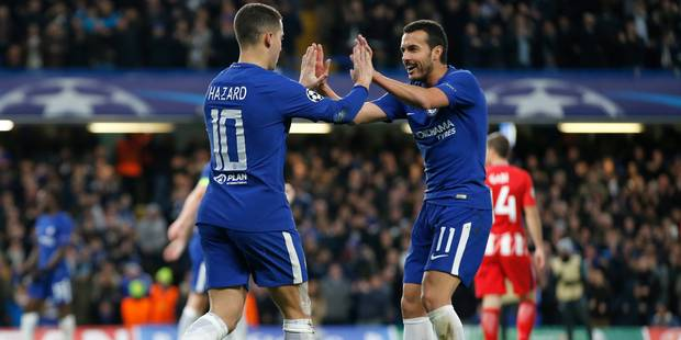 Champions League : Hazard ne craint pas le Barça et le PSG en huitièmes de finale - La Libre