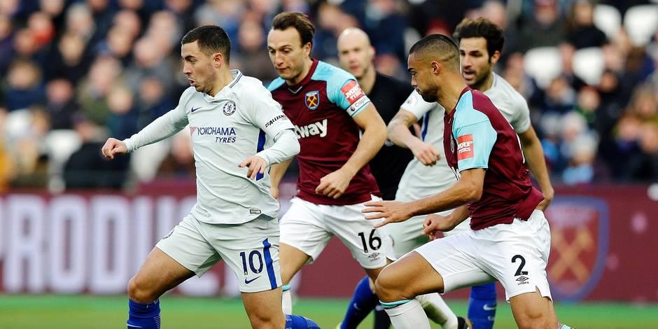 Chelsea et la dépendance Eden Hazard