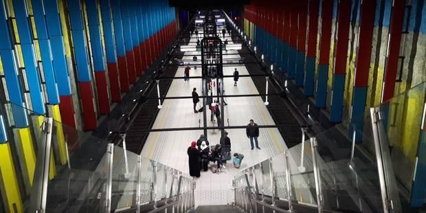 Bruxelles: un homme de 29 ans meurt suite à une bagarre à la station de métro Bockstael - La Libre