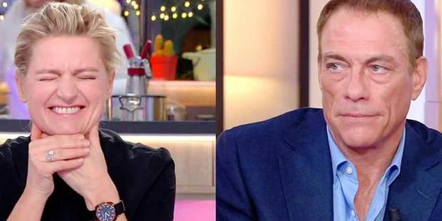 Jean-Claude Van Damme se lâche à la télé française (VIDEO) - La Libre
