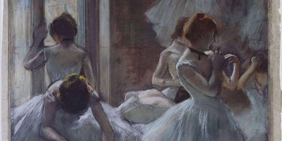 Edgar Degas: Danseuses 1884-1885