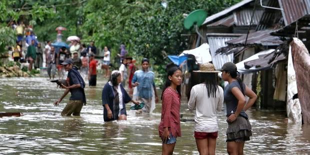 Tempête aux Philippines: 26 morts et des dizaines de milliers de personnes évacuées - La Libre