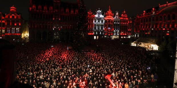 Henri PFR a mis le feu sur la Grand Place de Bruxelles - La Libre