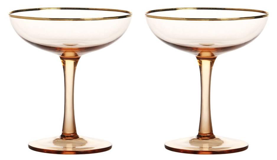 en duo dans ces coupes à champagne. Home autour du monde, 32€