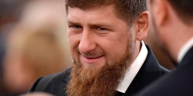 Nouvelles sanctions américaines contre la Russie: le dirigeant tchétchène et allié de Poutine visé - La Libre