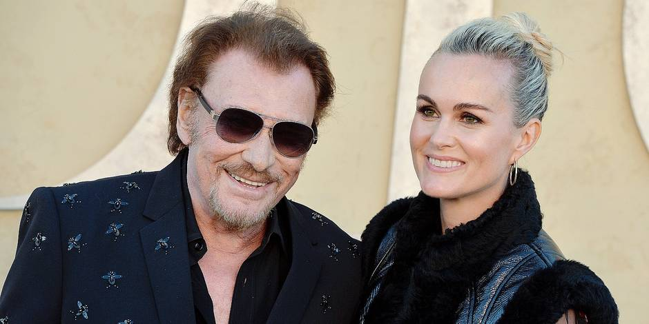 Johnny Hallyday and Laeticia Hallyday attend the Christian Dior Cruise 2018 on May 11th, 2017 in Calabasas, California. Photo by ABACAPRESS.COM Reporters / Abaca
