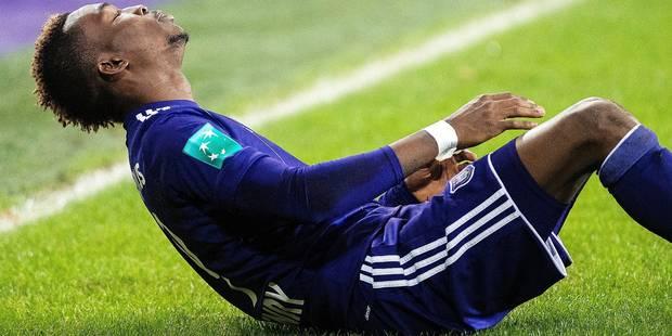Anderlecht et Onyekuru discutent de son opération - La Libre