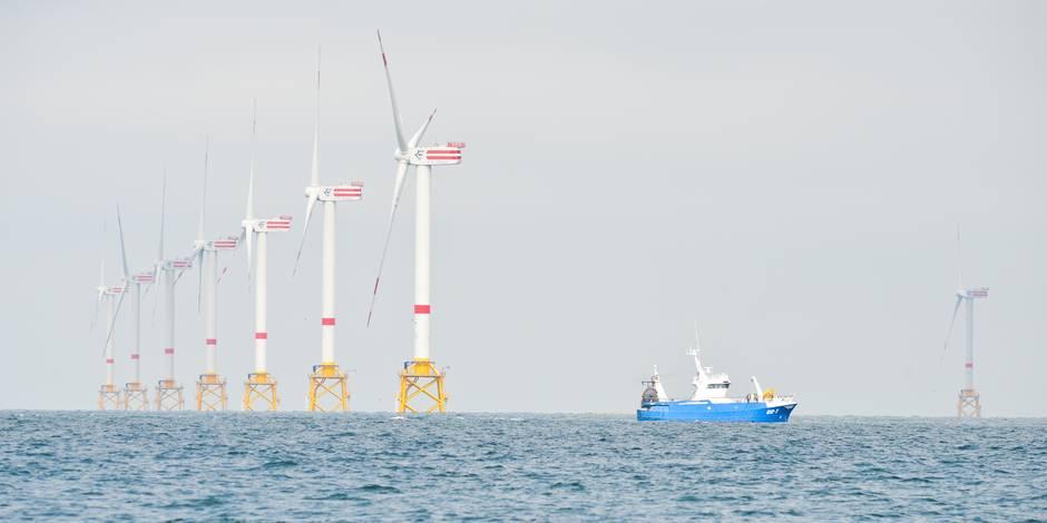 Les éoliennes en mer fourniront de l'électricité à un million de ménages belges en 2018