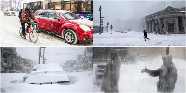 Inondations glacées, milliers de personnes sans électricité...: après un bref répit, la vague de froid revient aux Etats...