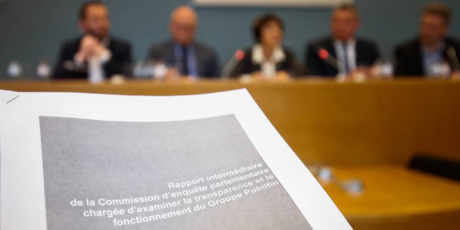 Publifin: Critiques croissantes du PS, d'Ecolo et... du cdH sur le suivi des recommandations