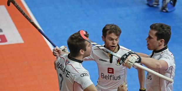 Euro Hockey Indoor: Les Belges, promus et qualifiés pour les demi-finales de leur Euro! (VIDEOS) - La Libre