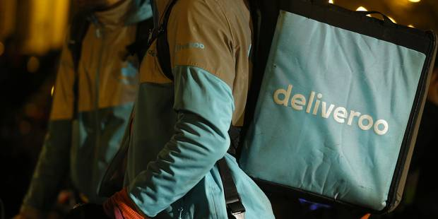 Plus de 130 coursiers de Deliveroo en grève à Bruxelles et à Liège - La Libre