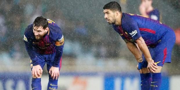 Messi manque un penalty, le Barça s'incline dans le derby en 1/4 de finale aller de la Coupe du Roi - La Libre