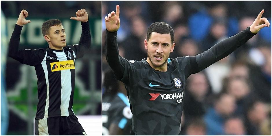 Les Belges à l'étranger : un but et un assist pour Thorgan Hazard, feu d'artifices pour les Belges de Chelsea