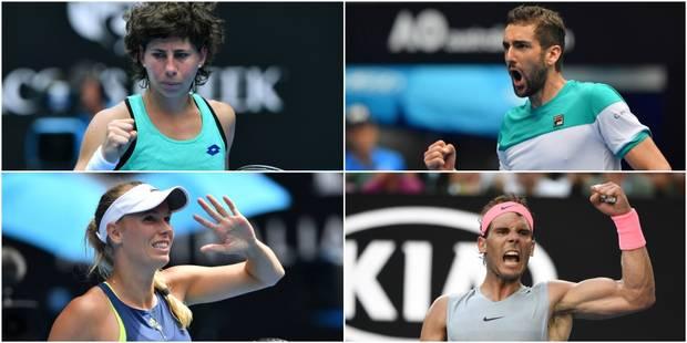 Australian Open: tous les résultats de la nuit - La Libre