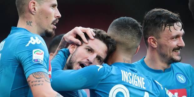 Belges à l'étranger: Vermaelen sort sur blessure, Mertens offre la victoire à Naples à l'Atalanta, J.Lukaku passeur (VID...