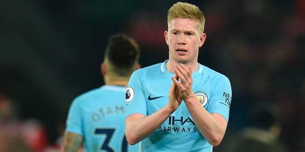 Kevin De Bruyne prolonge son contrat avec Manchester City et s'offre un salaire astronomique - La Libre