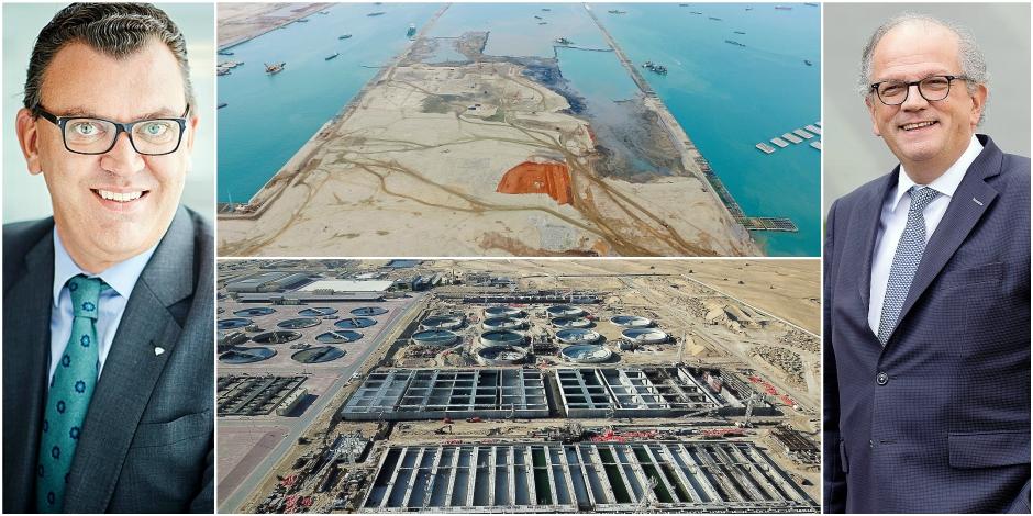 Le port de Singapour, une usine de traitement des eaux à Dubaï: quelles sont les recettes des Belges pour obtenir des mé...