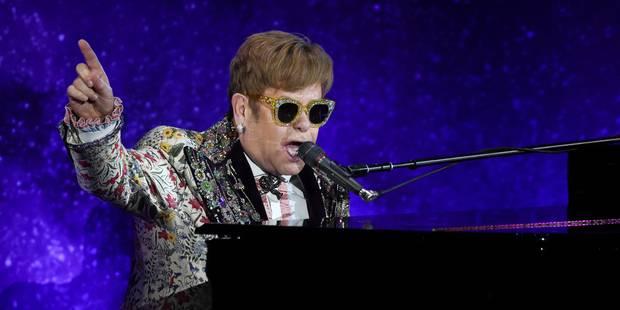 La dernière tournée d'Elton John sera longue de trois ans - La Libre