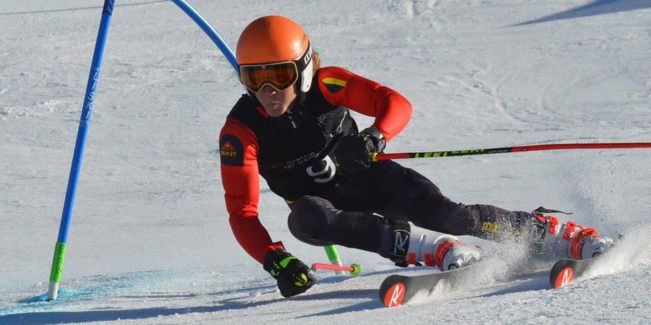 Le skieur Sam Maes complète la plus grosse délégation belge de l'après-guerre aux Jeux Olympiques d'hiver