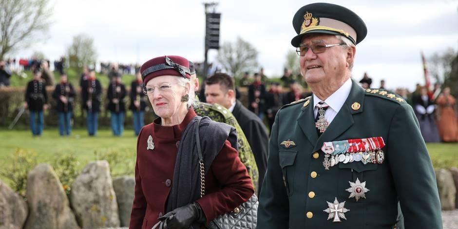 Le prince consort Henrik de Danemark, atteint de démence, a de nouveau été hospitalisé