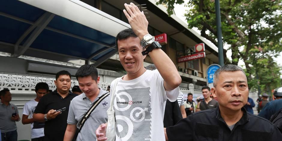 Ce Thaïlandais multiplie les actions et les provocations pour ridiculiser les généraux au pouvoir - La Libre
