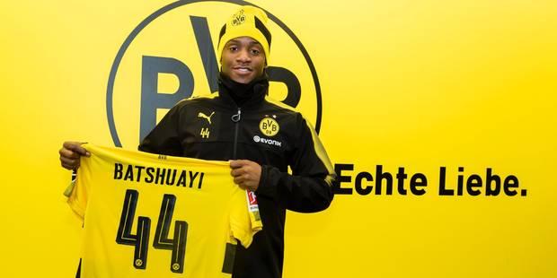 Michy Batshuayi rejoint le Borussia Dortmund (Officiel) - La Libre