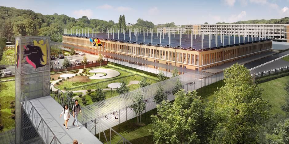 Namur: Voici les futurs bureaux (à 22,5 millions €) des 500 fonctionnaires provinciaux