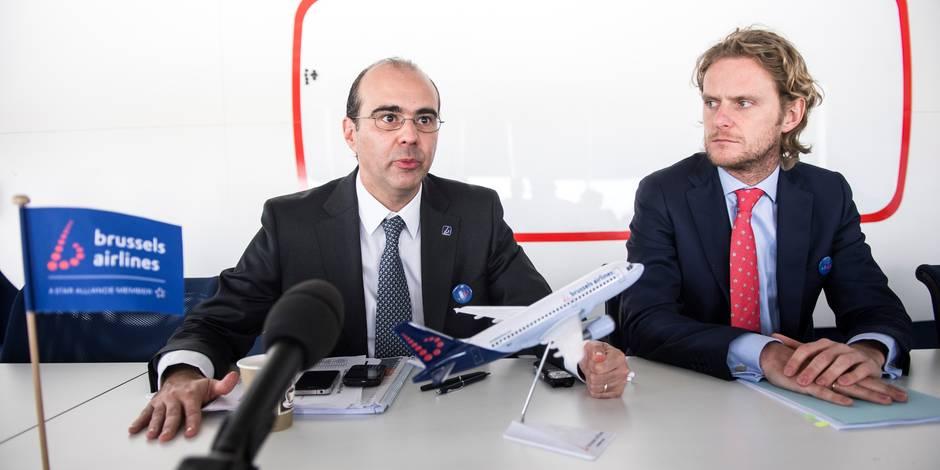 Lufthansa veut virer les deux patrons belges de Brussels Airlines