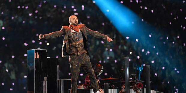 Super Bowl: Justin Timberlake rend hommage à Prince à la mi-temps - La Libre