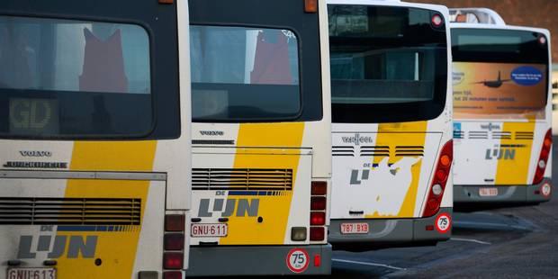 Les travailleurs de De Lijn seront en grève ce 16 février - La Libre