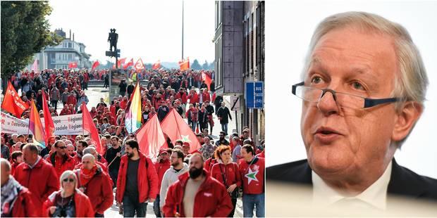 """La CGSP partira en grève ce 27 février, Daniel Bacquelaine dénonce une nouvelle grève """"politique"""" - La Libre"""