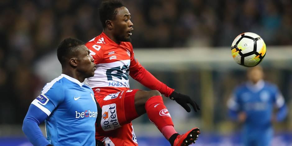 Le Racing Genk écarte Courtrai (1-0) et file en finale de la Coupe de Belgique