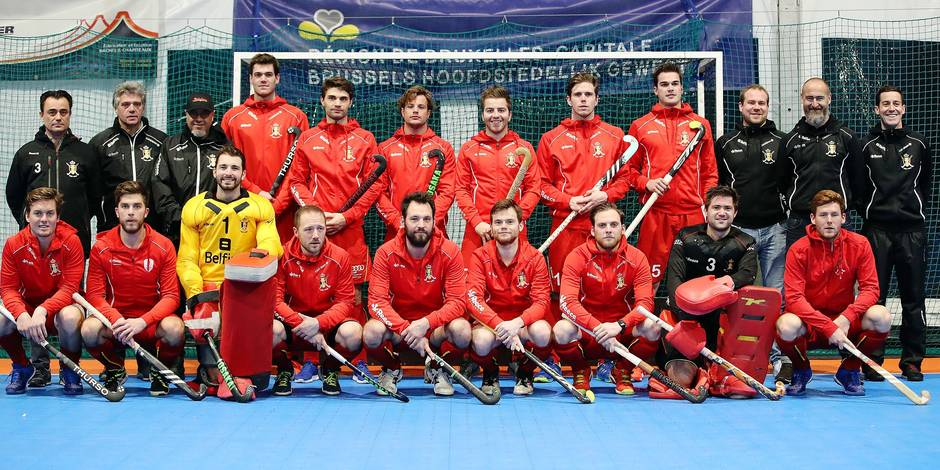 Hockey en salle messieurs indoor red lions