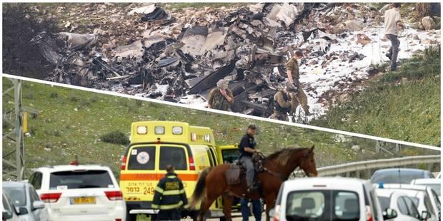 Crash d'un F16 israélien et d'un hélicoptère turc après des raids en Syrie: Deux militaires turcs tués (Notre résumé) - ...