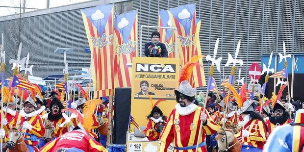 Puigdemont et la N-VA en vedette au carnaval d'Alost - La Libre