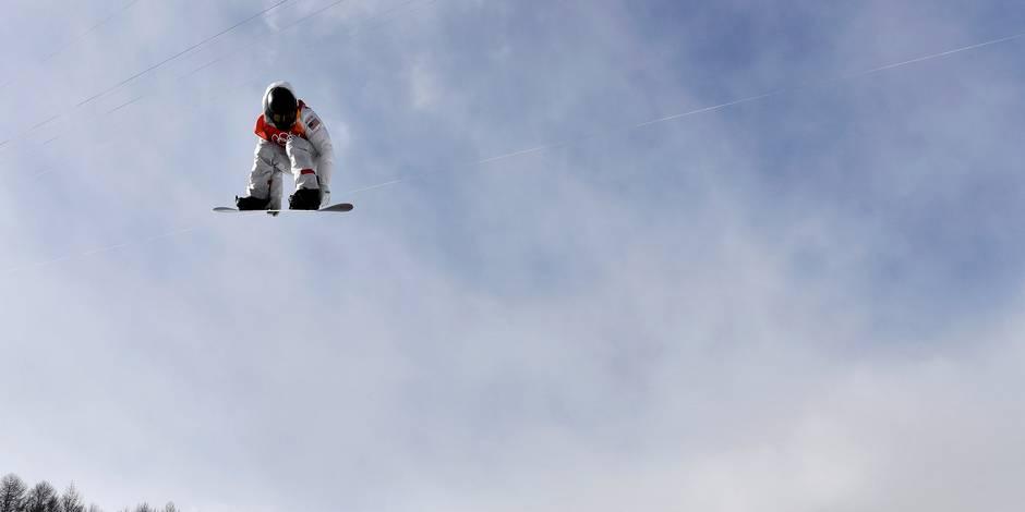 L'Américaine Chloe Kim championne olympique à 17 ans — Demi-lune